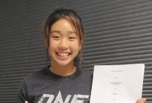 16-jarige Victoria Lee tekent ONE Championship contract