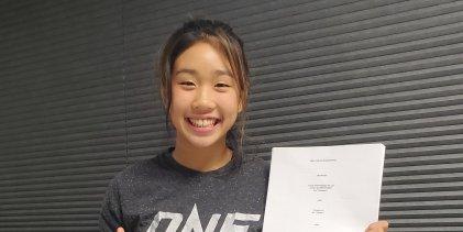 16-jarige Victoria Lee tekent ONE Championship contract