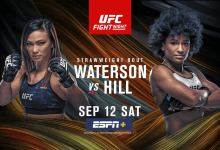 Uitslagen : UFC on ESPN+35 Las Vegas : Waterson vs. Hill