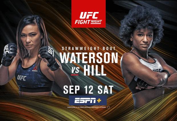 Uitslagen : UFC on ESPN+35 Las Vegas : Waterson vs. Hill