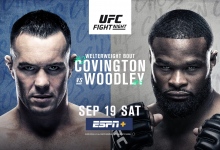 Uitslagen : UFC on ESPN+ 36 : Covington vs. Woodley
