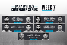 Uitslagen : DWCS Season 4 Week 7 : Rodrigues vs. Williams