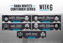 Uitslagen : DWCS Season 4 Week 6 : Nchukwi vs. Matavao