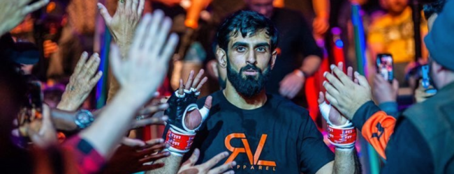 KB Bhullar maakt short notice debuut tegen Tom Breese tijdens UFC on ESPN 16 in Abu Dhabi