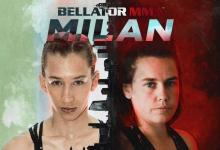 SHC kampioene Griet Eeckhout maakt Bellator MMA debuut tegen Mandy Böhm