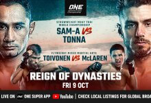 Uitslagen : ONE Championship 116 : Reign of Dynasties