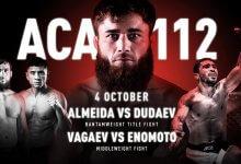 Uitslagen : ACA 112 : Grozny