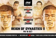 Uitslagen : ONE Championship 117 : Reign of Dynasties II