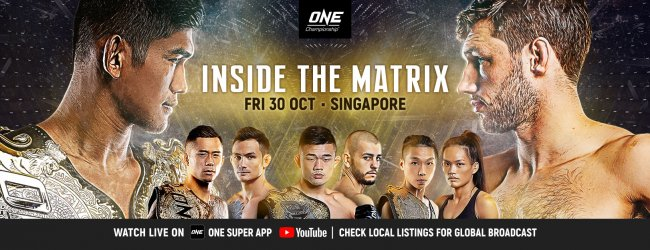 Uitslagen : ONE Championship 118 : Inside the Matrix