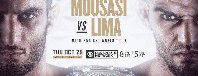 Uitslagen : Bellator 250 : Mousasi vs. Lima