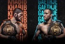 """UFC 254 zaterdag vanaf 20.00u live op KIJK en vanaf 22.45u op """"tape-delay"""" via SBS 9"""