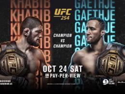 Uitslagen : UFC 254 : Khabib vs. Gaethje