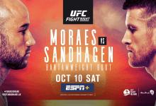 Uitslagen : UFC on ESPN+ 37 Abu Dhabi : Moraes vs. Sandhagen