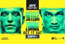 Uitslagen : UFC on ESPN+ 38 Abu Dhabi : Ortega vs. The Korean Zombie