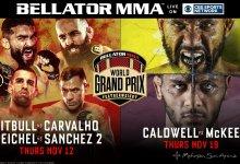 Bellator MMA hervat Featherweight Grand Prix tijdens Bellator 252 en Bellator 253