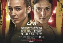 Vanessa Demopoulos verdedigt titel tegen Lupita Godinez tijdens LFA 94