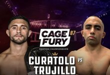 Uitslagen : CFFC 87 : Curatolo vs. Trujillo