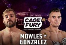 Uitslagen : CFFC 86 : Mowles vs. Gonzalez