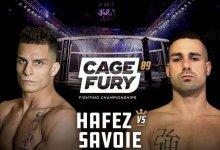 Uitslagen : CFFC 89 : Hafez vs. Savoie