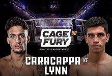 Uitslagen : CFFC 88 : Caracappa vs. Lynn
