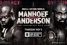 Uitslagen : Bellator 251 : Manhoef vs. Anderson