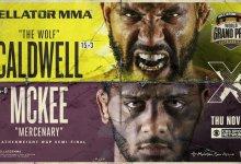 Uitslagen : Bellator 253 : Caldwell vs. McKee