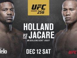 """Kevin Holland vs. """"Jacaré"""" Souza toegevoegd aan UFC 256 op 12 december aanstaande"""