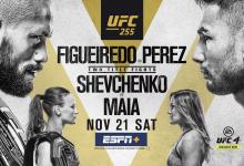 Uitslagen : UFC 255 : Figueiredo vs. Perez