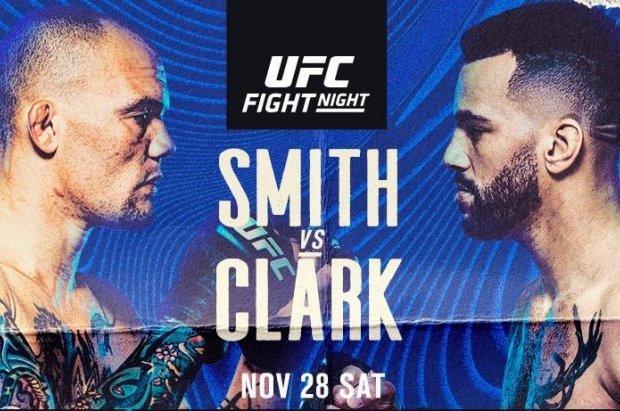 Uitslagen : UFC on ESPN 18 Las Vegas : Smith vs. Clark