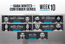 Uitslagen : DWCS Season 4 Week 10 : Buys vs. Silva