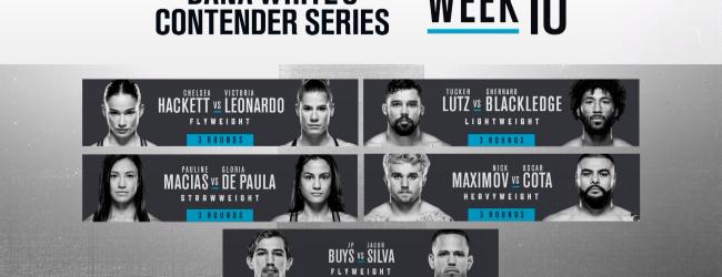 Uitslagen : DWCS Season 4 Week 10 : Buys vs. Silva