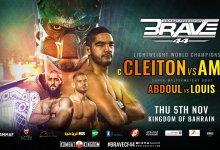 Uitslagen : Brave CF 44 : Silva vs. Ayoub