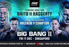 Uitslagen : ONE Championship 123 : Big Bang II