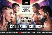 Uitslagen : ONE Championship 124 : Collision Course