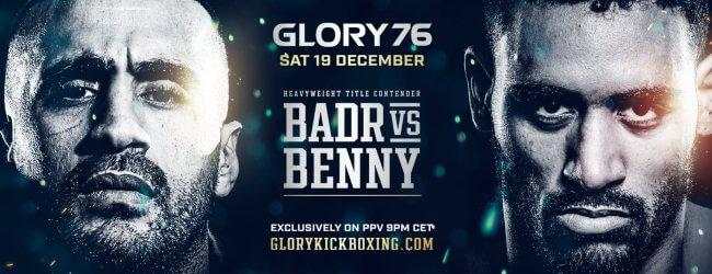 Uitslagen : GLORY 76 : Badr vs. Benny