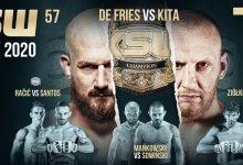 Uitslagen : KSW 57 : De Fries vs. Kita