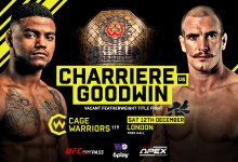 Uitslagen : Cage Warriors 119 : Charrière vs. Goodwin