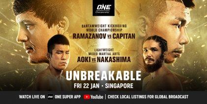 Uitslagen : ONE Championship 126 : Unbreakable